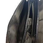 Мужская сумка из натуральной кожи с клапаном, большая, фото 4