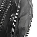 Мужская сумка из натуральной кожи с клапаном, большая, фото 5