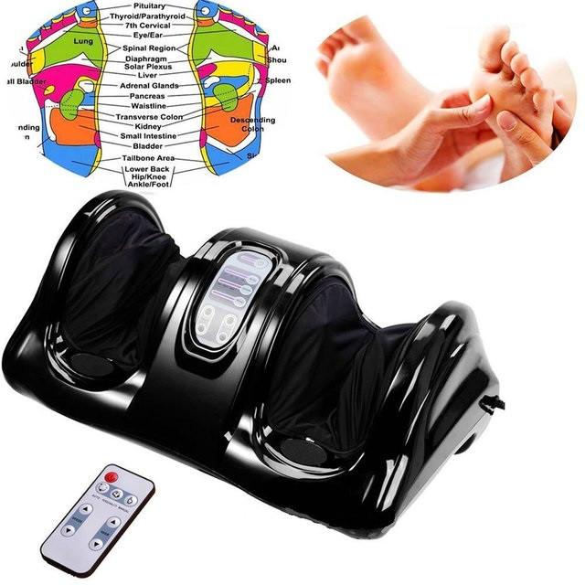Массажер для стоп и лодыжек с пультом Foot Massager Блаженство