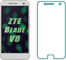 Защитное стекло ZTE Blade V8 (Прозрачное 2.5 D 9H) (ЗТЕ Блейд В8)