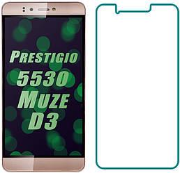 Защитное стекло Prestigio 3530 Muze D3 (Прозрачное 2.5 D 9H) (Престижио Музе Мьюз Д3 3530)