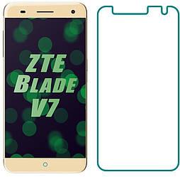 Защитное стекло ZTE Blade V7 (Прозрачное 2.5 D 9H) (ЗТЕ Блейд В7)