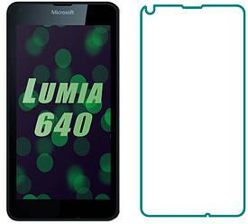 Защитное стекло Microsoft Lumia 640 (Прозрачное 2.5 D 9H) (Люмия 640)