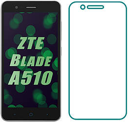 Защитное стекло ZTE Blade A510 (Прозрачное 2.5 D 9H) (ЗТЕ Блейд А510)