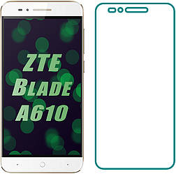 Защитное стекло ZTE Blade A610 (Прозрачное 2.5 D 9H) (ЗТЕ Блейд А610)
