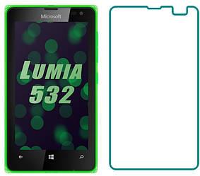 Защитное стекло Microsoft Lumia 532 / 435 (Прозрачное 2.5 D 9H) (Люмия 532)