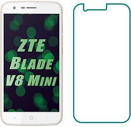 Защитное стекло ZTE Blade V8 Mini (Прозрачное 2.5 D 9H) (ЗТЕ Блейд В8 Мини)