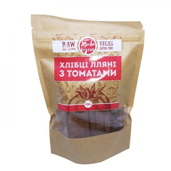 Хлебцы с томатом Жива Кухня 100г