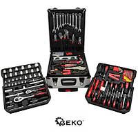 Набор инструментов ключей GEKO 187 елементов