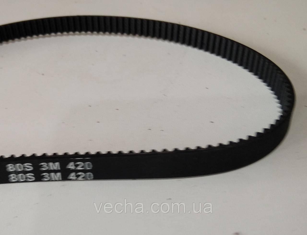 Ремень зубчатый S3М-420 для хлебопечки, фото 3