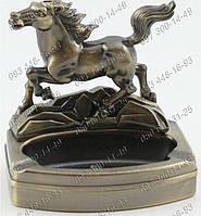 Необычные подарки Пепельница с зажигалкой Лошадь №0616 Идеи подарка Предмет интерьера Атрибут для курильщиков