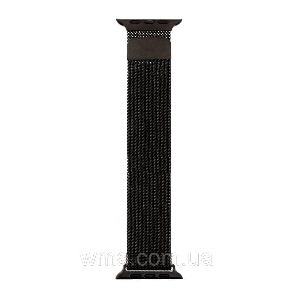 Ремешок Apple Watch Milanese loop 38 / 40mm Цвет Чёрный