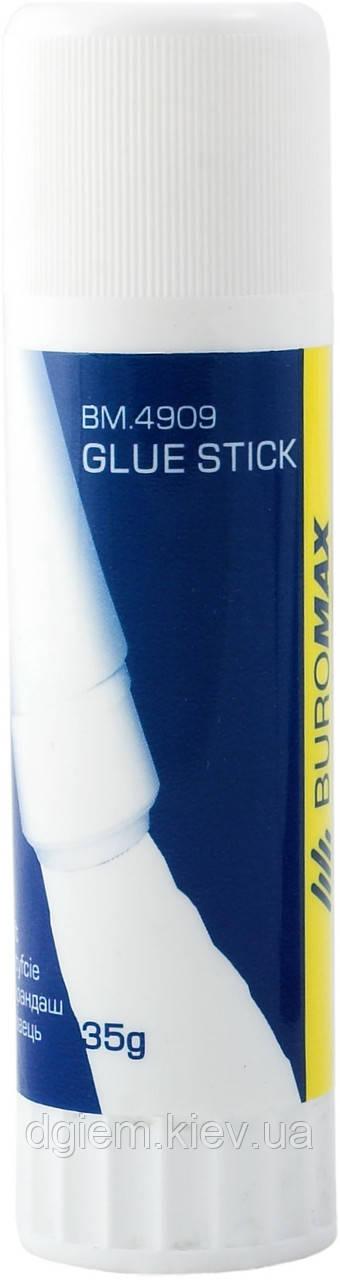 Клей-олівець 35г PVP BUROMAX