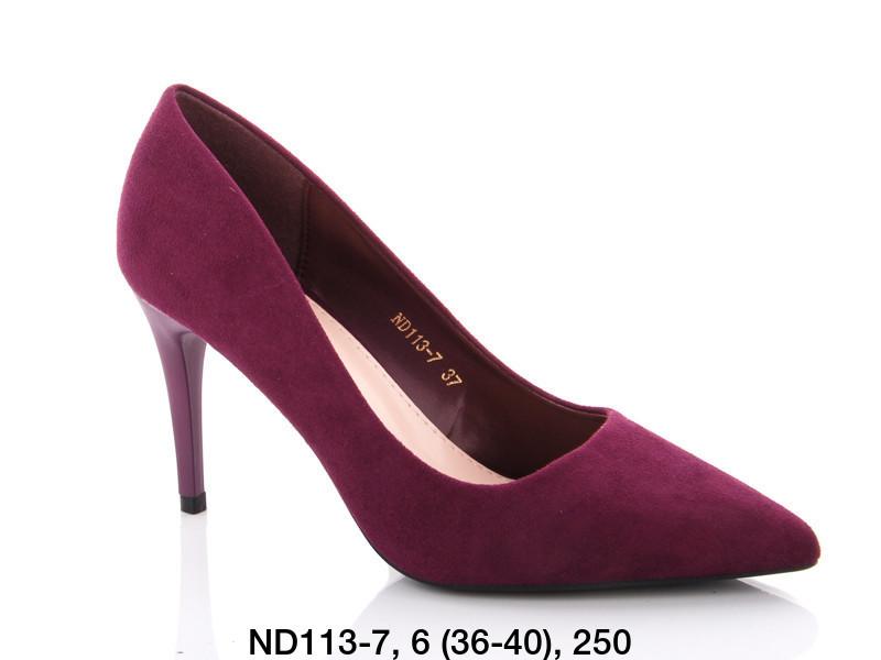 Туфли женские на каблуке фиолетовые Teetspace-Trasta-Egga-ND113-7