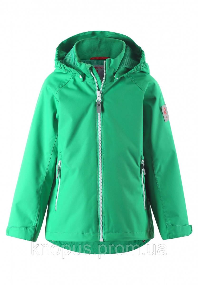 Демисезонная  куртка детская  бирюзовая, Reimatec,  размеры 92-146