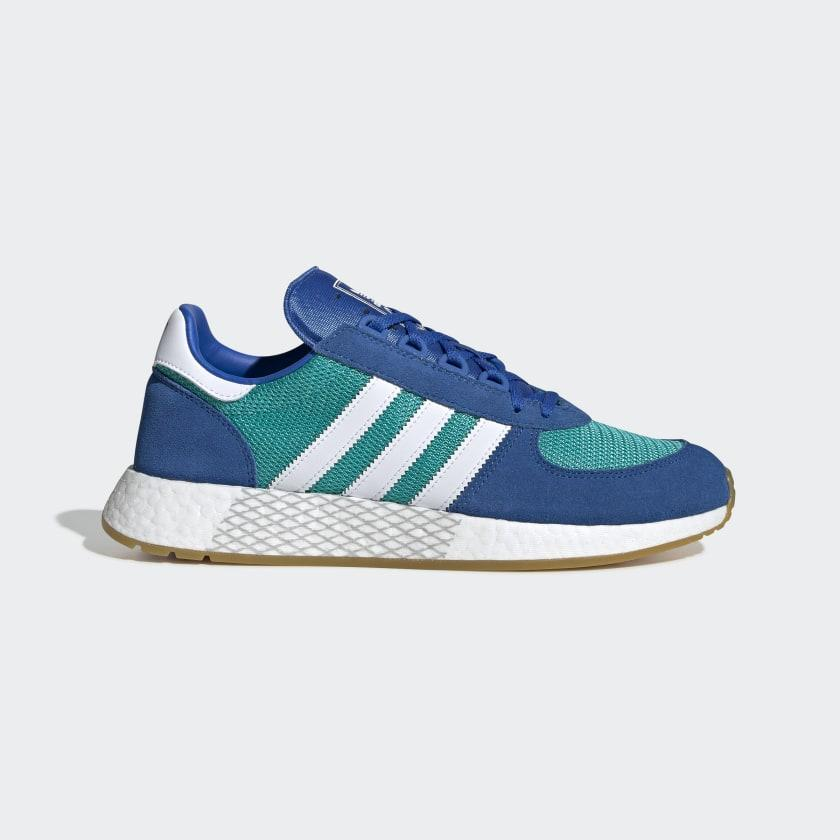 Кроссовки мужские Adidas Marathon Tech синие (EE4918)