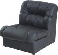 Офисный диван Визит одинарный модуль кожзам Мадрас