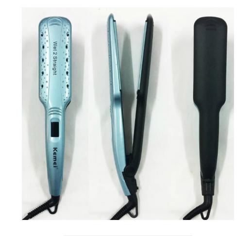Утюжок для волос Kemei ZFQ-KM-9621 Голубой