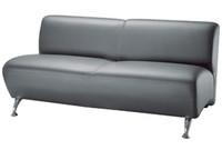 Офисный диван Каролина двойной модуль кожзам Жемчуг