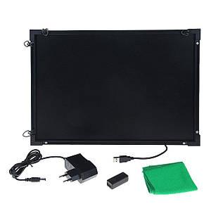 Светящаяся доска для рисования Fluorecent Board 4060 c фломастером и салфеткой 181126