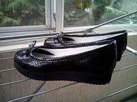 Женские туфли на платформе 3см