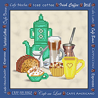 Полезный завтрак  Схема вышивки бисером