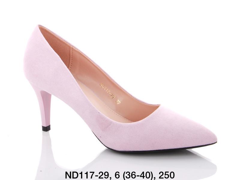 Туфли женские на каблуке розовые Teetspace-Trasta-Egga-ND117-29