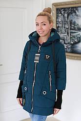 Куртка жіноча демісезонна стильна (розміри 50, 52, 54, 56, 58)