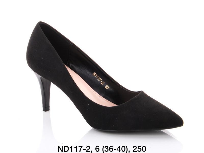 Туфли женские на каблуке черные Teetspace-Trasta-Egga-ND117-2