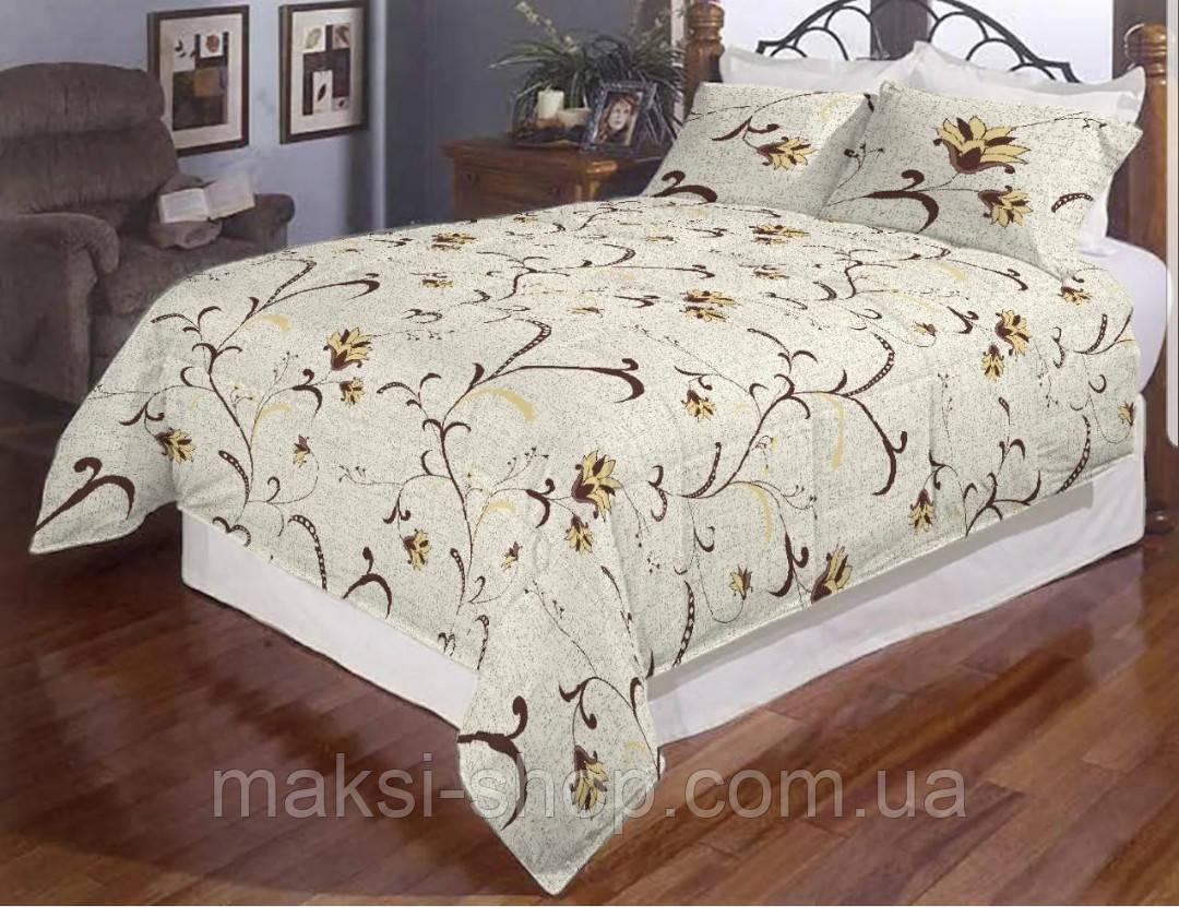 Комплект постельного белья евро размер хлопок Бязь Gold, Бязь Gold Lux