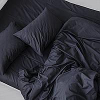 Комплект постельного белья из ранфорса цвет графит