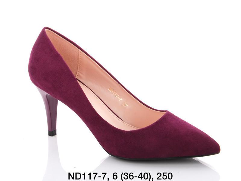 Туфли женские на каблуке фиолетовые Teetspace-Trasta-Egga-ND117-7