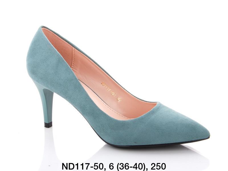 Туфли женские на каблуке зеленые Teetspace-Trasta-Egga-ND117-50