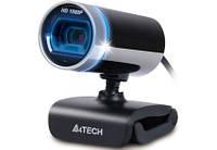 Веб-камера A4Tech PK-910H Full HD (Silver+Black)