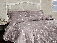 Комплект постельного белья турция First Choice. Satin Светло-коричневый - Евро 7472, фото 1