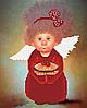 Ангелочек Пирожуля . Схема формат А4+