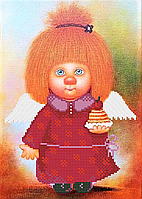 Ангелочек Сластена . Схема формат А4+