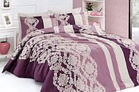 Качественное постельное белье First Choice. Satin Пудра - Евро 7480, фото 1