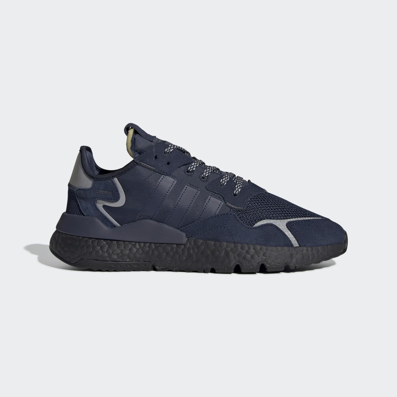 Кроссовки мужские Adidas Nite Jogger синие (EE5858)