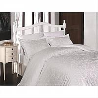 Качественное постельное белье First Choice. Satin Белый - Евро 7481, фото 1