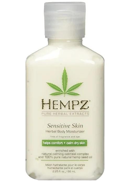Увлажняющий лосьон для чувствительной кожи Hempz Sensitive Skin Herbal Body Moisturizer 66 мл