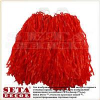 Красные помпоны (махалки) для танцев на пальцы матовые. Продажа и прокат.