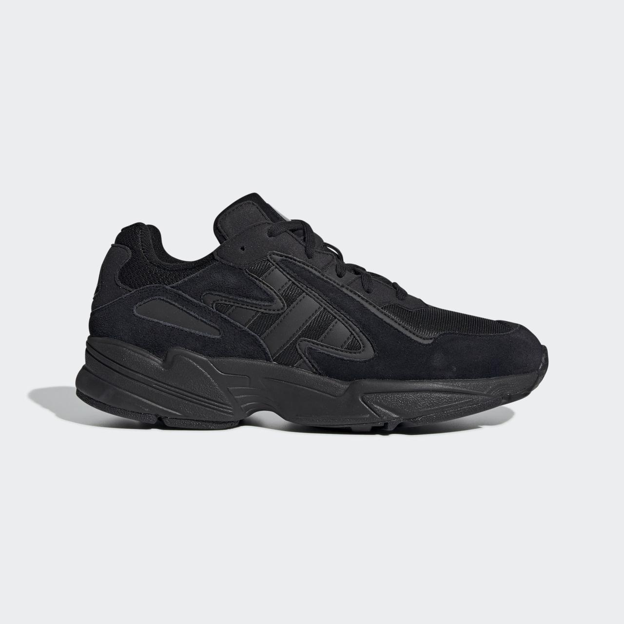 Кроссовки мужские оригинальные Adidas Yung-96 Chasm черные
