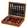 Набор подарочный Lefard шахматы+фляга Охотник 250 мл 18138-003