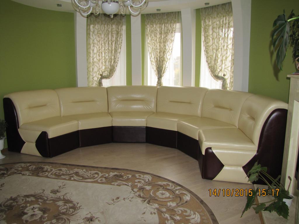 "Круглий диван ""Ната"" 1"
