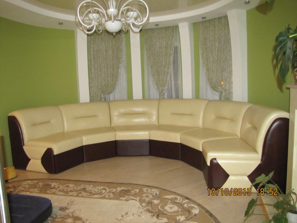 "Круглий диван ""Ната"" 2"