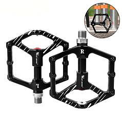 Педали велосипедные West Biking 0802073 AL-99 Black алюминиевые с магнитом 2 шт