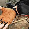 Рукавички для велосипеда West Biking 0211196 S Brown без пальців, фото 6