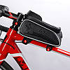 """Велосумка на раму West Biking 0707205 Black для смартфона 6"""" бардачок для инструмента, фото 4"""