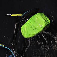 Велосумка со встроенным фонарем West Biking 0707231 Black объем 1,5L, фото 3